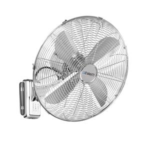 Devanti 40cm Wall Mountable Fan - Silver
