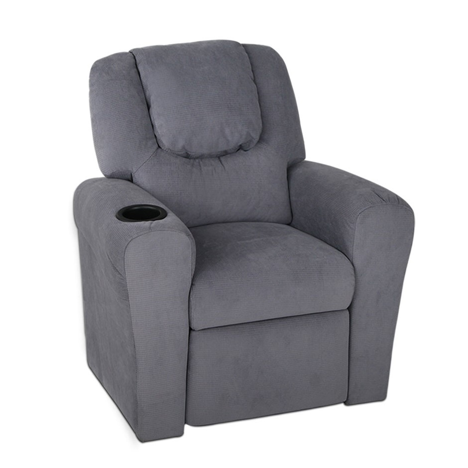 Kids Recliner Chairs With Cup Holder Graysonline