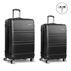 Wanderlite 2 Piece Lightweight Luggage S