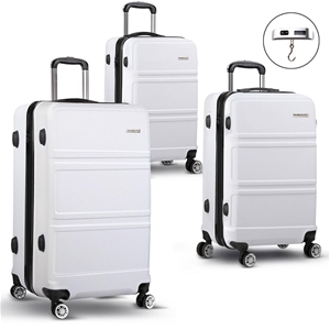 Wanderlite 3 Piece Lightweight Luggage S