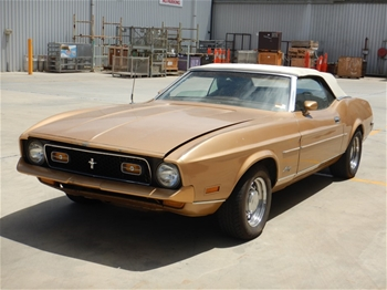 1972 Ford Mustang Automatic Convertible