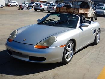 1999 Porsche Boxster 986 Manual Convertible