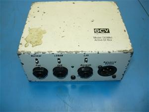 SCV DI2Mkll Active D.I. Box