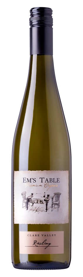 Em's Table Organic Riesling 2016 (6 x 750mL) Clare Valley, SA