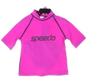 SPEEDO Junior Girls Logo Rashie & Brief