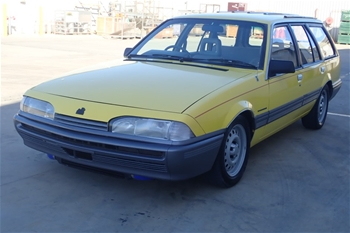 Unreserved 1986 Holden VL Manual - 5 speed Wagon