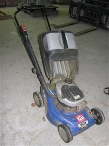 lawn mower victa tornado model vex  stroke petrol engine pull start auction
