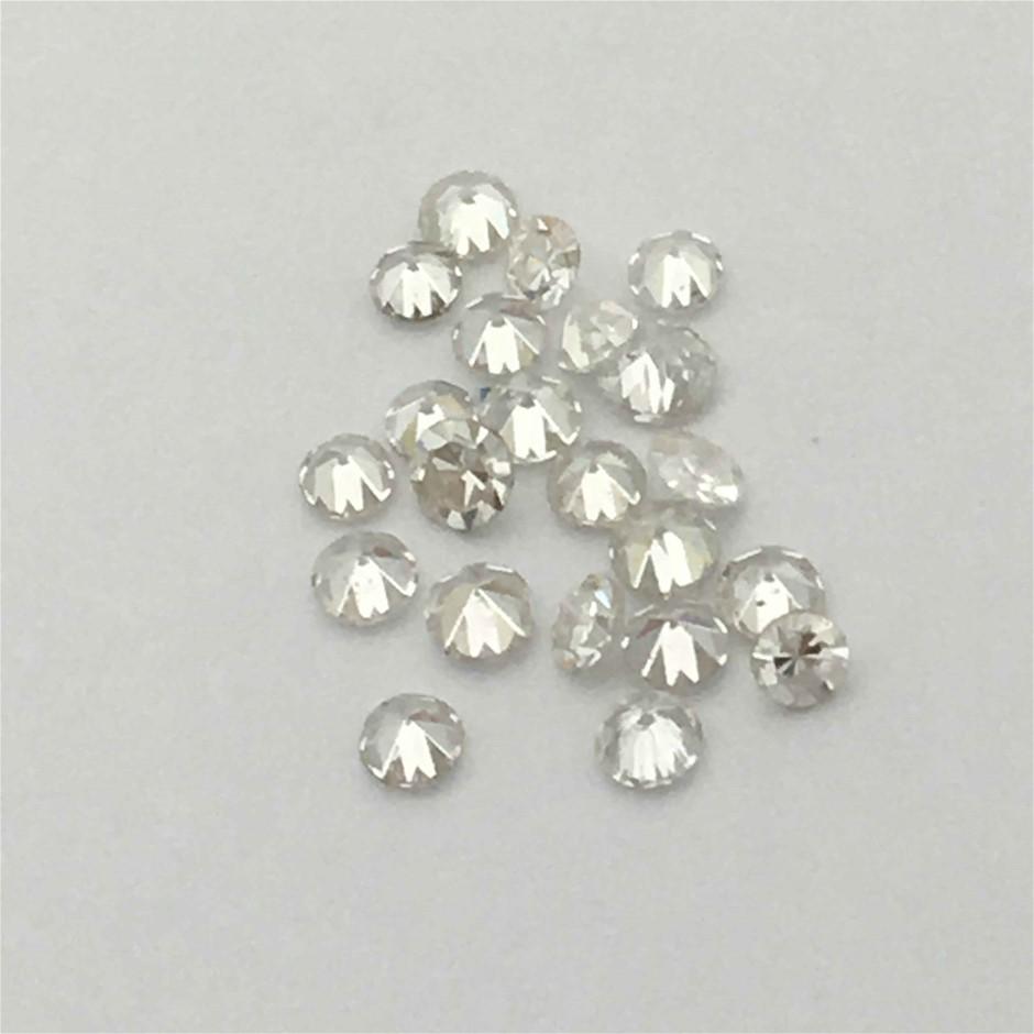 0.30ct Twenty Stones Natural Diamond