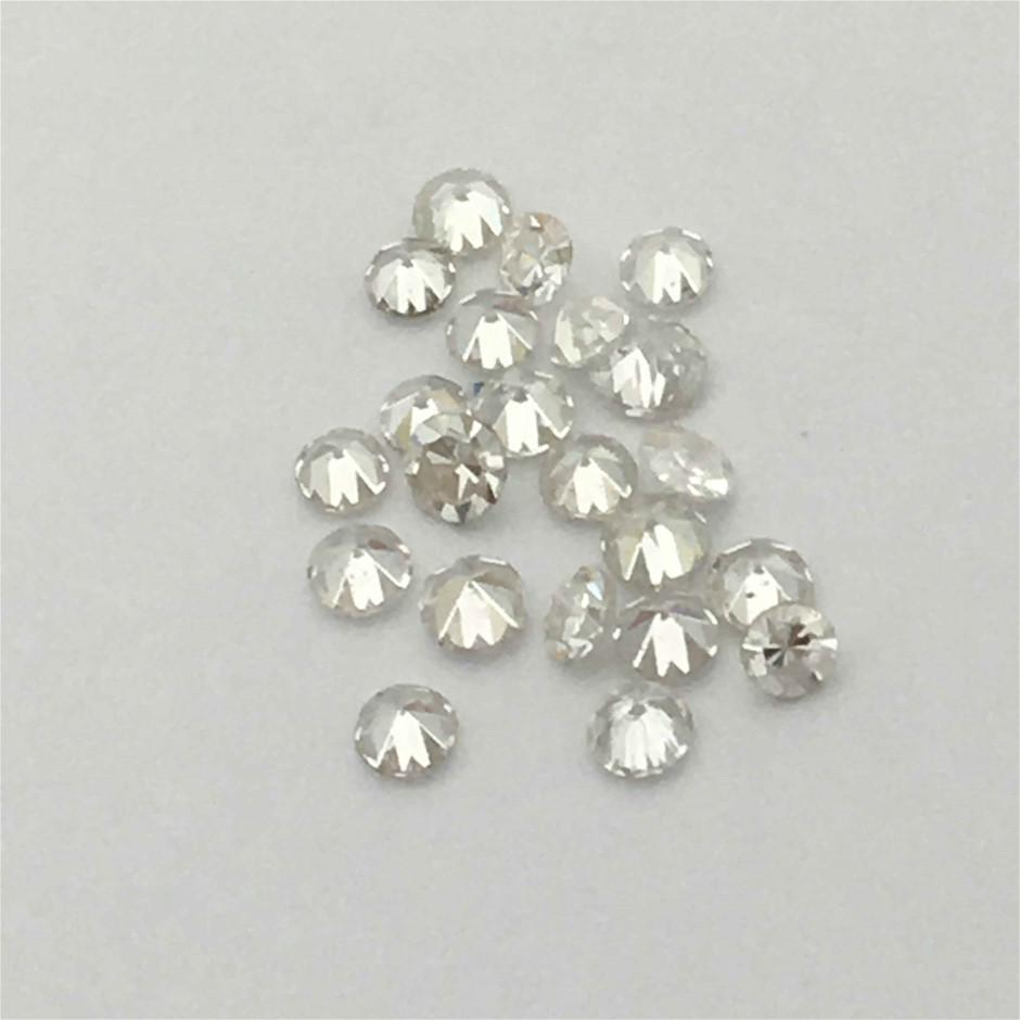 0.30ct Twenty Five Stones Natural Diamond