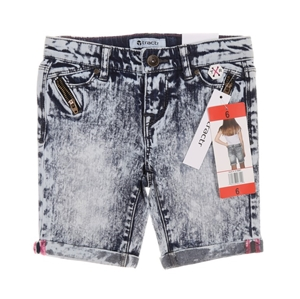 2 x TRACTOR Girl`s Jean Shorts, Size 6,