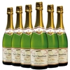 Paul Chamblain Blanc de Blancs Brut NV (6 x 750mL) Burgundy, France