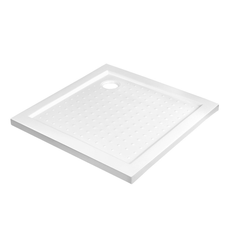 Cefito Shower Base Over Tray Acrylic ABS Fiberglass Square 900mm DIY Bath