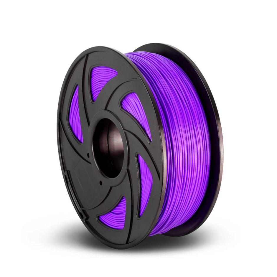3D Printer Filament PLA 1.75mm 1kg Roll Accuracy 0.02mm Spool Purple