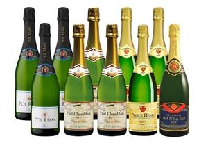 French Bubbles Trio + Bonus Bottle Of Ch