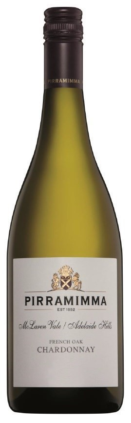 Pirramimma `French Oak` Chardonnay 2018 (12 x 750mL) SA