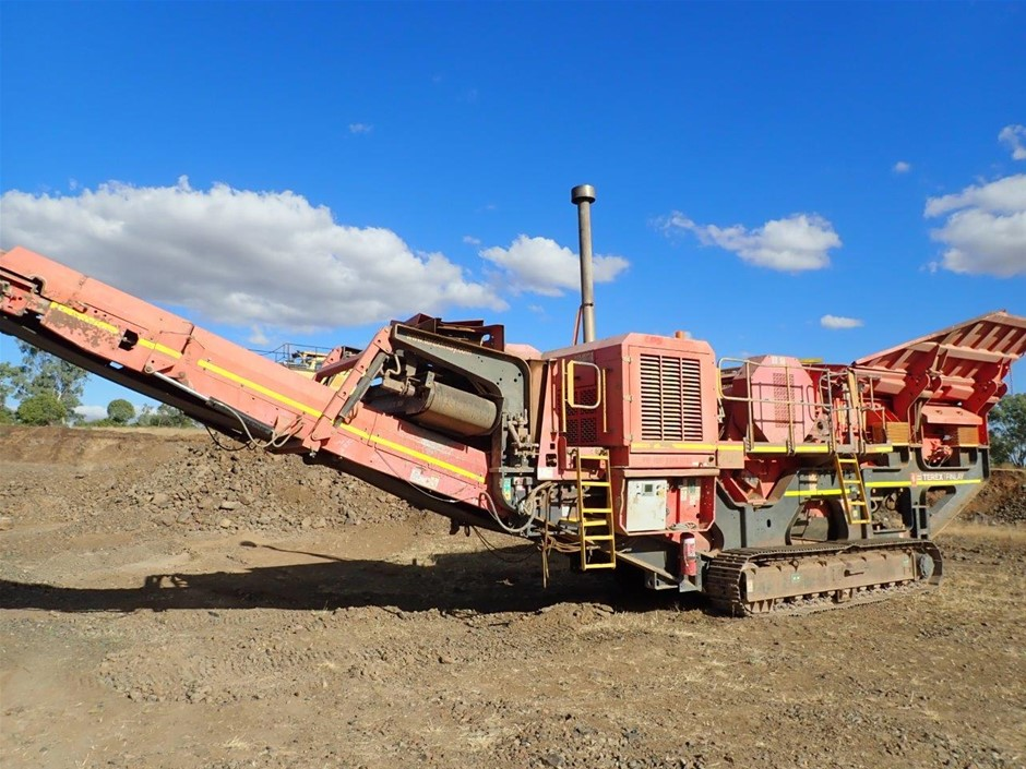 2012 Terex/Finlay Jaw Crusher Auction (0003-7022544