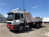 Unreserved 2005 Isuzu Giga C3C 6x4 Tip Truck & Service Truck