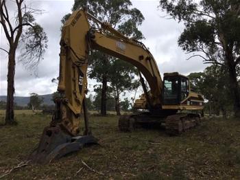 Tracked Excavator, Caterpillar 330BL
