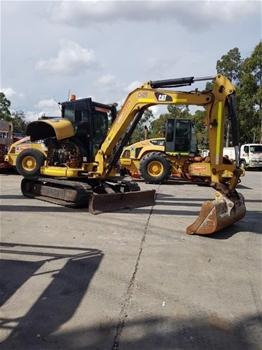 2011 Caterpillar 5t Excavator