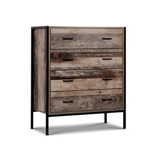 Tallboy 4 Chest of Drawers Bedroom Dress