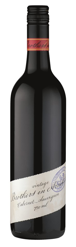 Brothers in Arms Cabernet Sauvignon 2014 (6 x 750mL), Langhorne Creek, SA.
