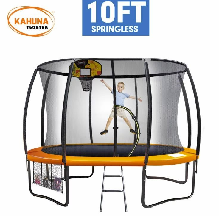 Kahuna Twister 10ft Springless Trampoline