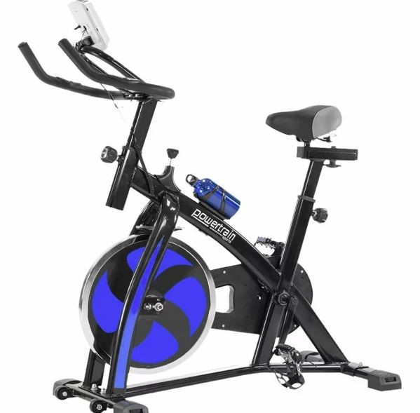 Exercise Spin Bike - Blue