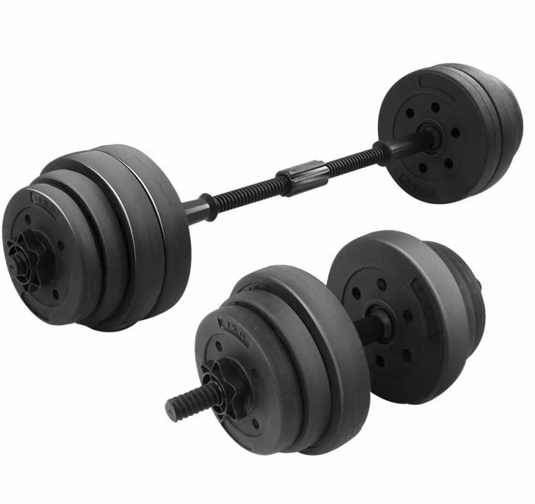 Powertrain 20kg ABS Dumbbell Set