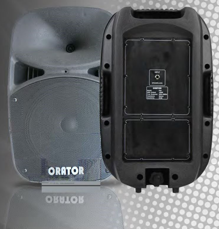 Orator Audio P10 120W Passive Stage Speaker