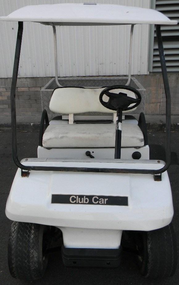 Golf Cart, Club Car DS Golf, 2002, Petrol , Colour: White ...