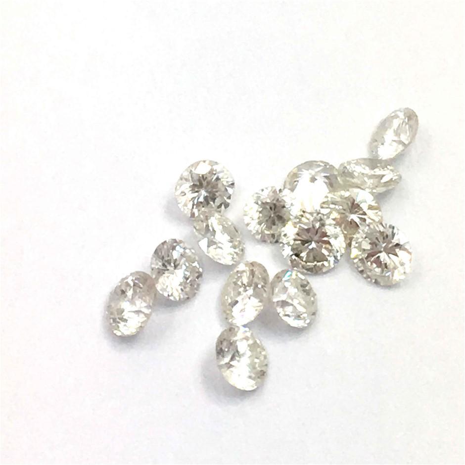 0.30ct Eighteen Stones Natural Diamond