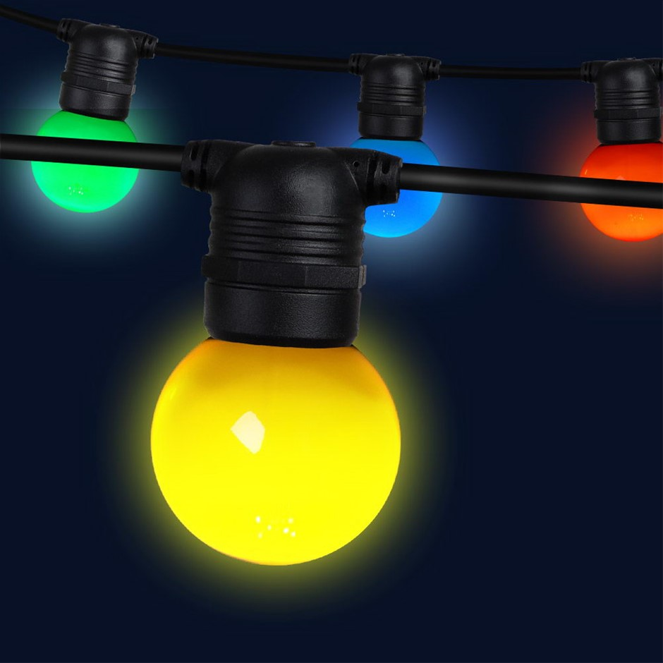Jingle Jollys 23m LED String Lights Kits Wedding Party Multi-Color