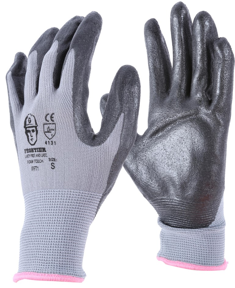 24 Pairs x Nitrile Palm Machine Knitted Gloves, Size 2XL. Buyers Note - Dis