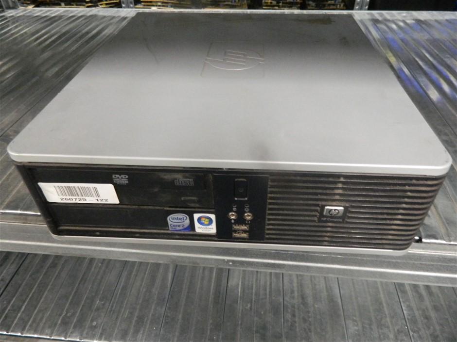 HP Compaq dc7900 Small Form Factor Small Form Factor (SFF) Desktop PC