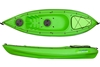 The Encore 2.7m Kayak Including Seat And Paddle - Lime. By Wavedance Kayaks