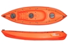 The Echo 2.7m Kayak With Seat And Paddle - Orange. By Wavedance Kayaks