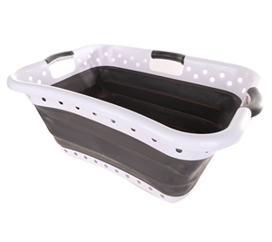 pas mal 07b2a 76a80 POP & LOAD Collapse & Store Laundry Basket. N.B. Marks at ...