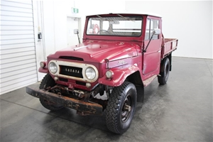 1969 Toyota FJ45 Landcruiser Manual Ute Matching Numbers