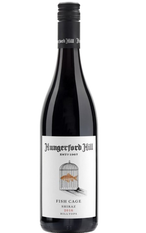 Hungerford Hill Fishcage Shiraz 2017 (12 x 750mL), Hilltops NSW.