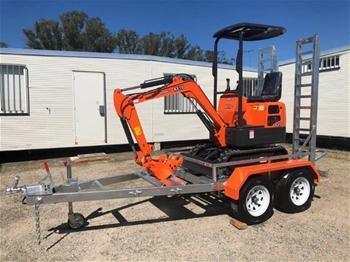 KOBOLT Excavator 2019 Mini KX10