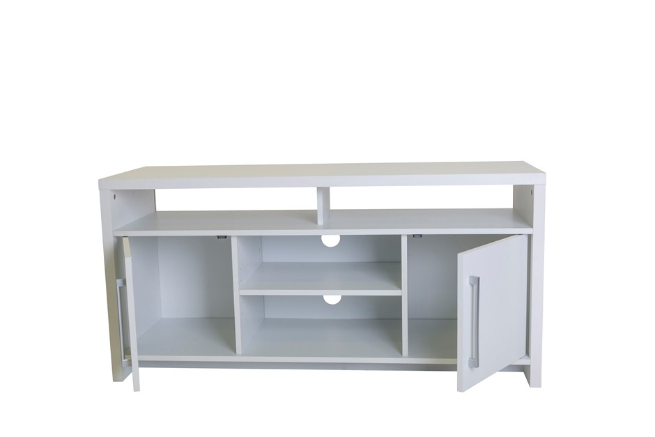 Tarin TV Stand Entertainment Storage Unit - White