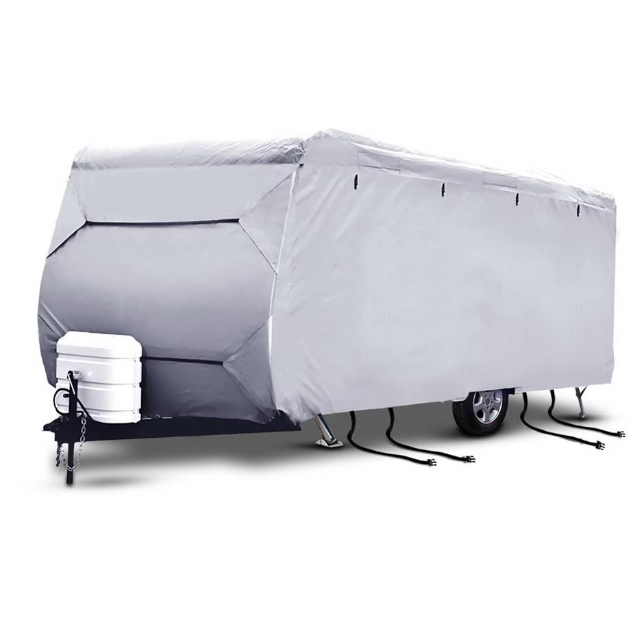 Weisshorn 14-16ft Caravan Cover Campervan 4 Layer Heavy Duty UV Covers