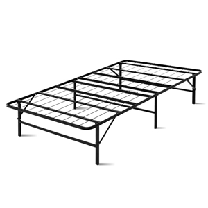 Artiss Foldable King Single Metal Bed Fr
