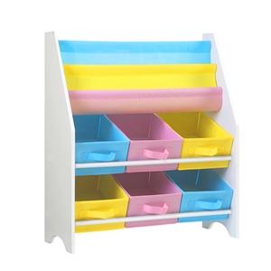 Artiss Kids Bookshelf Toy Organizer Book