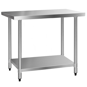Cefito 610 x 1219mm Commercial Stainless