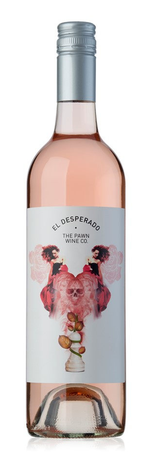 The Pawn Wine Co El Desperado Rose 2018 (12 x 750mL), Adelaide Hills, SA.