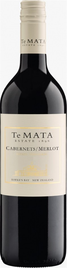 Te Mata Estate Cabernet Merlot 2017 (6 x 750mL), Hawke's Bay, NZ.