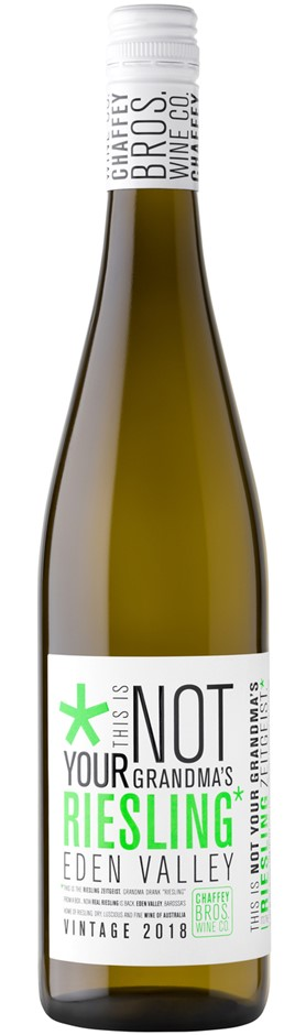 Chaffey Bros `Not Your Grandma's` Riesling 2018 (6 x 750mL), Eden Valley.