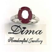 Dima Handcrafed 18 Karat Ruby Collection