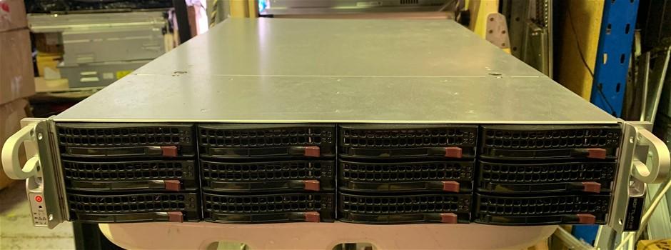 SuperMicro Server 16-Core 36TB 2U server